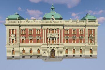 National Museum in Belgrade/Народни Музеј у Београду Minecraft Map & Project