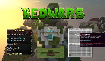 Premade Minecraft BedWars Server (Serveur Minecraft BedWars préconfiguré) Minecraft Map & Project