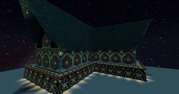 Gothic Rose Manor Minecraft Map & Project