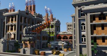 Novogrod | The Hidden Factory Minecraft Map & Project