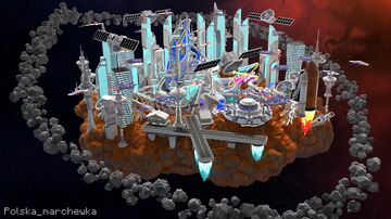 Future SkyWars Lobby Minecraft Map & Project