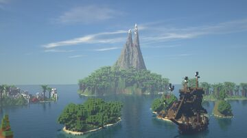 The Archipelago -  1.16.5 Casual Adventure map Minecraft Map & Project