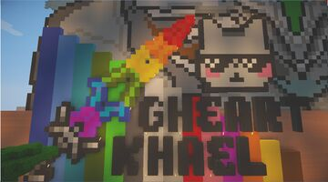My Own Pixel Art(by:Gheart.Khael) Minecraft Map & Project