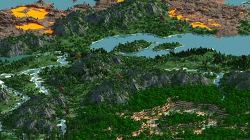 A'ggens - 16000x16000   Survival Map & Dungeon 1.12 - 1.16   Bedrock support Minecraft Map & Project