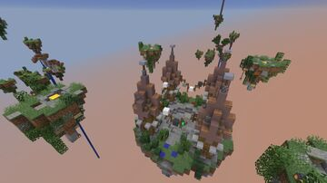 Flying Islands Minecraft Map & Project