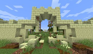 Camp Nehemiah (Multi-player game map) Minecraft Map & Project