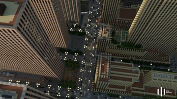 Rockefeller Center (Small scale replica in Minecraft) Minecraft Map & Project