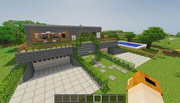 Casa natural / Natural house Minecraft Map & Project