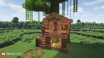 Minecraft Jungle Treehouse Minecraft Map & Project