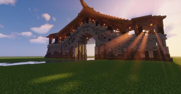 fortress walls Minecraft Map & Project