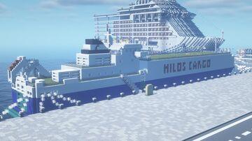 Hilos Carrier custom RoRo Cargo Vessel Minecraft Map & Project