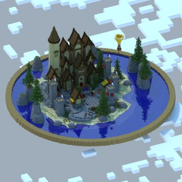 Medieval Island Spawn Minecraft Map & Project