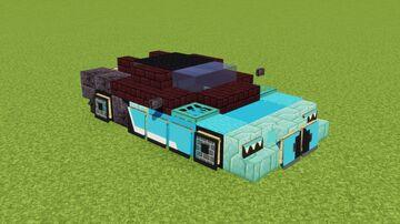 Bugatti Chiron Minecraft Map & Project