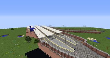 Lineas Cercanias Renfe Madrid   Real Train Mod Minecraft Map & Project
