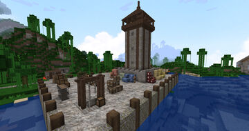 The Land of Halavarn - The Loading Docks Minecraft Map & Project