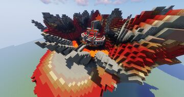 Small Fire Gym For Pokemon / Pixelmon Maps or Servers -- By MagmaTeam FreeDownload Minecraft Map & Project
