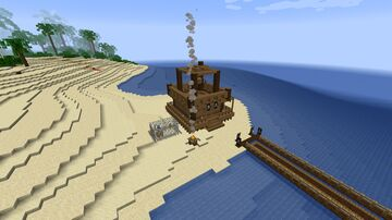 The Pirate's House Minecraft Map & Project