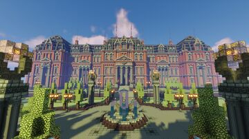 The Admiral's Manor Minecraft Map & Project