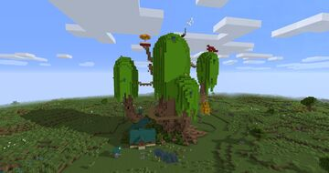 Adventure Time Tree Fort Minecraft Map & Project