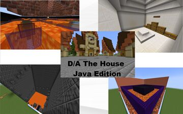 D/A The House Minecraft Map & Project
