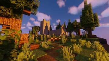 Abandoned Church-Halloween Special Minecraft Map & Project