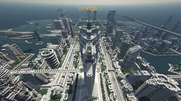 Omega 2048 Minecraft Map & Project
