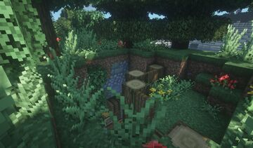 Ultimate Survival Cave base Minecraft Map & Project