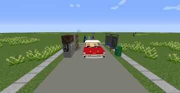 Updated Greenwood+Greenvill 50s/60s American City and Highway with Mods 1.12.2 Dowenlod Map+Mods+buildings help by @maximuus04 Minecraft Map & Project