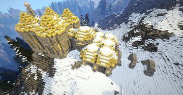 Kagrenzal V2, dwemer ruin, full interior (Skyrim TES) Minecraft Map & Project