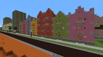 Old Town in Canyon City Minecraft Map & Project