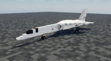 BAC TSR-2 - 1.5:1 Scale Minecraft Map & Project