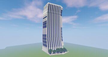 Modern Skyscraper Minecraft Map & Project