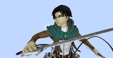 Levi Ackerman - Shingeki no Kyojin Minecraft Map & Project