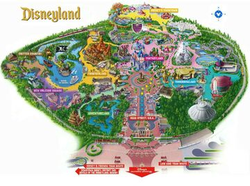 Disneyland Resort Part 1 (Disneyland Park) Minecraft Map & Project