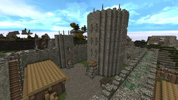 The King's Donjon Minecraft Map & Project
