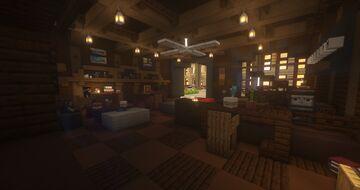 SPCY Bean™ Café in Monroe | Minecraft Coffee Shop Minecraft Map & Project