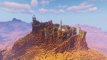 Veratorre - A Mesa Hill Village Minecraft Map & Project