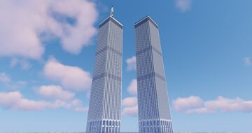 World Trade Center, New York Minecraft Map & Project