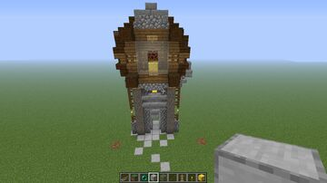 Working redstone clock tower Minecraft Map & Project