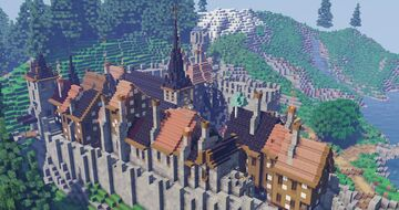 Medieval Town (Alenvins Project) Minecraft Map & Project