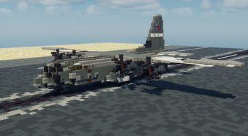 C-130J Super Hercules - 1.5:1 Scale Minecraft Map & Project
