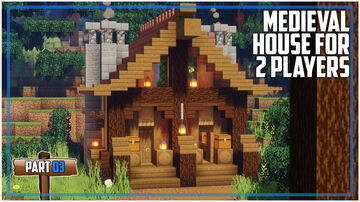 Medieval House for 2 People Minecraft Map & Project
