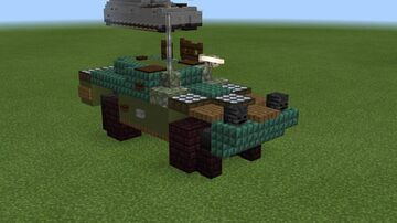 1.5:1 scale BRDM-1 version 2 Minecraft Map & Project
