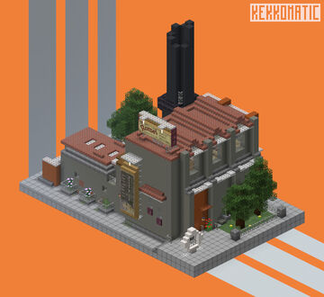 Romei Factory House Minecraft Map & Project