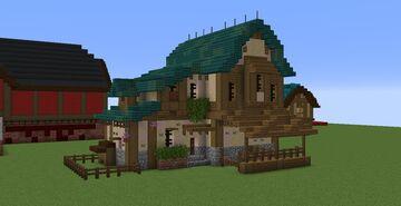 Tudor Farm House Minecraft Map & Project