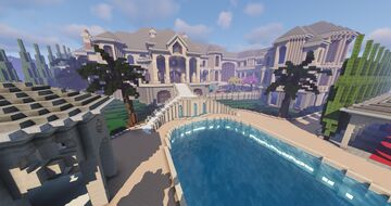 Traditional Mansion (ComeBack Build) (World Download) Minecraft Map & Project