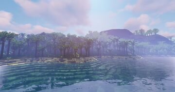 Abandoned Tropical Island Terrain - 1000x1000 Survival Map, Created in 15 Minutes! Minecraft Map & Project