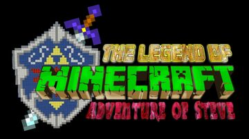 The legend of Minecraft: Adventure of Steve Demo Minecraft Map & Project