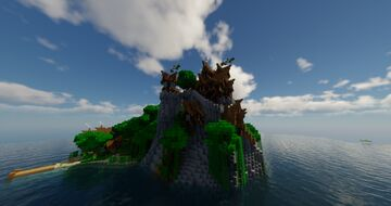 Leaf Cliff Minecraft Map & Project