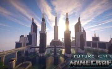 Lazali City Future City مدينة لازاليا مدينة المستقبل Minecraft Map & Project